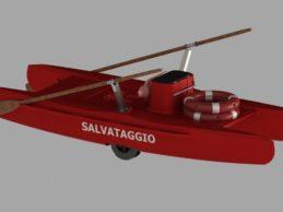 Bisceglie – L'Associazione Baywatch acquista un pattino di salvataggio