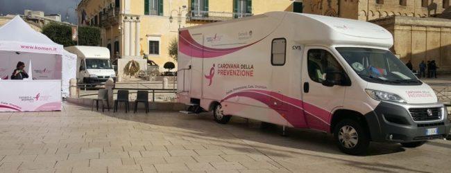 """Andria – Carovana della prevenzione in Piazza Catuma, ma le visite avvengono solo previa """"iscrizione"""": divampa la polemica sui social"""