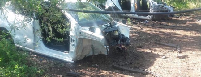 Andria – Due auto cannibalizzate rinvenute in c.da Cocuzzo: un fenomeno inarrestabile
