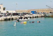 Trani – Il fondale del porto torna pulito. VIDEO