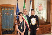 Barletta – Danza sportiva: il Commissario Tufariello incontra due giovani campioni