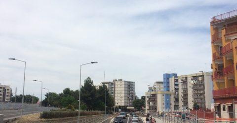 Barletta – Aperto il sottopasso tra via Einaudi e via Papa Giovanni XXIII. Strada di collegamento dedicata a Pertini