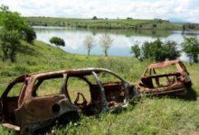 Cerignola – La Diga Capacciotti cimitero di auto rubate