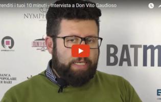 """Andria – VIDEOINTERVISTA a Don Vito Gaudioso: """"Noi spettatori colpevoli di ignavia!"""""""