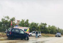 Bisceglie – Incidente stradale sulla Corato-Bisceglie: 2 feriti