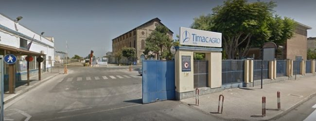 """Barletta – Timac Agro: """"L'attività di bonifica è ora l'unica priorità per tutti"""""""