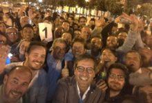 Bisceglie – ll neoeletto sindaco Angelantonio Angarano in piazza per ringraziare gli elettori
