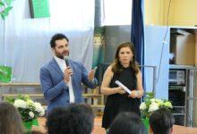 """Andria – ICS """"Mariano-Fermi"""" in festa: la presentazione del nuovo logo durante la cerimonia di fine anno. FOTO e VIDEO"""