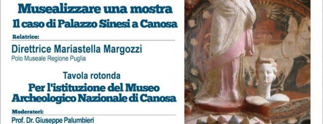 Canosa di Puglia – Il Rotary Club per l'istituzione del Museo Archeologico Nazionale di Canosa