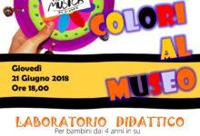 """Minervino Murge – """"Suoni e Colori"""": laboratorio per bambini"""