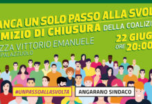 Bisceglie – Stasera comizio di chiusura di Angelantonio Angarano