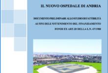Andria – Presentato lo studio di prefattibilità del nuovo ospedale