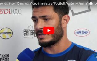 "VIDEOINTERVISTA – ""Asd Football Academy"": al via la nuova Scuola Calcio andriese"