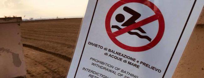 Barletta – Divieto di balneazione a Ponente: gli esiti degli accertamenti