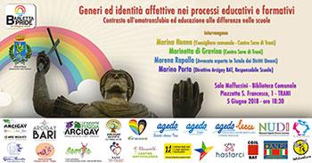 Trani – Incontro a sostegno del Barletta Pride 2018