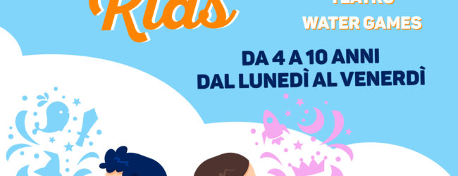 Andria -Da lunedì 18 Giugno parte il Summer CampKids