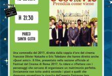 """Trani – Estate al Parco Santa Geffa, giovedì """"Cinema sotto le stelle"""""""