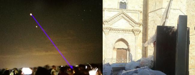 Andria – Eclissi lunare al Castello: i due volti di un evento memorabile. FOTO GALLERY