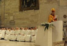 Andria – Santa messa per il primo anniversario della morte di Mons. Raffaele Calabro