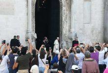 Bari – Ecco le prime immagini della visita del Papa