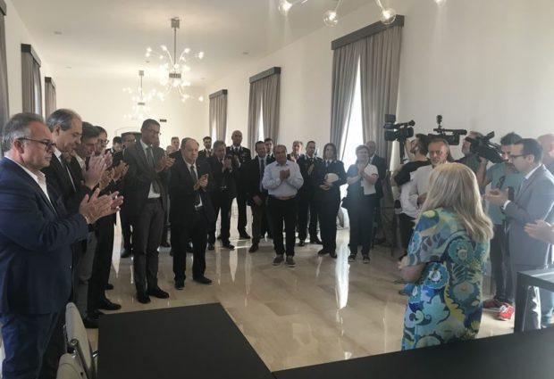 BAT – Il saluto del Prefetto Maria Antonietta Cerniglia