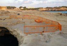 Melendugno – Grotta Poesia interdetta a bagnanti