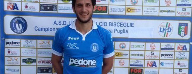 Bisceglie – Unione Calcio, in difesa arriva Miguel Altares