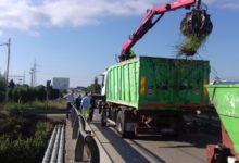 Barletta – Ciappetta Camaggio: interventi Bar.s.a. per ripulire ponte via Andria