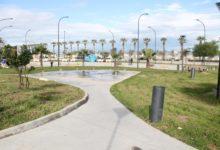 """Barletta – Parco """"Mennea"""", ripristinate fontane e giochi d'acqua,  ricollocata panchina divelta"""