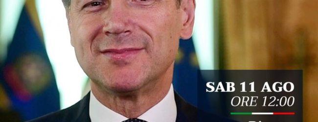 Situazione politica: il premier Conte posta un video messaggio su Facebook. VIDEO
