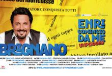 """Trani – Giovedì 23 agosto Enrico Brignano in """"Enricomincio da Me Unplugged"""""""