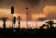 """Trani – Migliaia di persone per """"l'incendio al castello"""". VIDEO"""