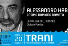 Trani – Il 20 agosto Alessandro Haber reciterà i versi scritti da De Gregori
