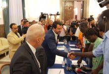 """Foggia – Foggia: Salvini a migranti: """"Aiutiamoci reciprocamente"""". VIDEO"""