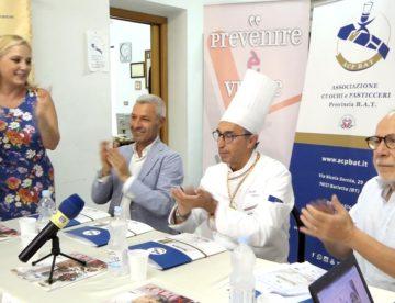 """Barletta – Presentata la sesta edizione del concorso culinario """"Eraclio d'Oro.  Foto e Videointerviste"""