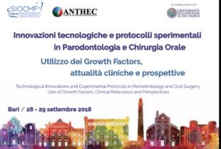 Bari – Il 28 e 29 settembre al policlinico congresso internazionale di chirurgia orale