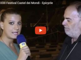 Andria – Festival Castel dei Mondi: 8 ciclonauti di Epicycle inaugurano la 22^ edizione. VIDEO e FOTO