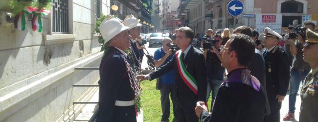 Barletta – Il ricordo del 75° anniversario della resistenza all'occupazione nazista