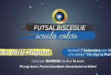 Bisceglie – Futsal: scuola calcio, domani la festa di inizio stagione