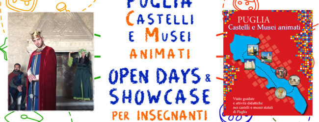 Trani-Castelli di Puglia. Open day e Showcase per i docenti