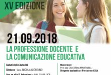 Andria – Settembre pedagogico 2018: la 15° edizione