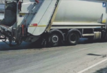 Trani – Liquido di rifiuti disperso in strada: sanzionata l'Amiu a Massafra