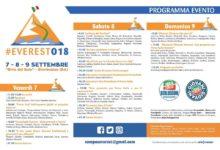 """Giovinazzo – Torna """"Everest"""" edizione 2018 con i """"big"""" di """" Forza Italia"""". Dal 7 al 9 settembre"""