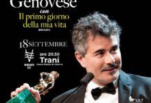 """Trani – Il 18 settembre il regista Paolo Genovese presenta il romanzo """"Il primo giorno della mia vita"""""""