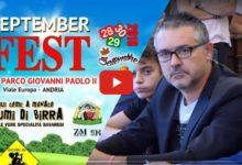 Andria – Festa della birra per il Quartiere Europa: Le video interviste ai protagonisti
