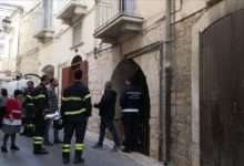 Andria – Cede solaio di una casa in centro storico