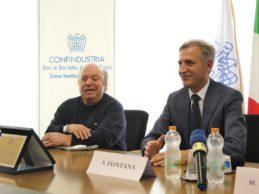 Barletta – Lino Banfi diventa imprenditore agroalimentare: da Confindustria il titolo di Ambasciatore del Made in Puglia. FOTO e VIDEO