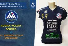 Audax Volley Andria – Prima uscita contro la GS Intrepida Volley San Severo