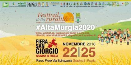 Parco Murgia, a Gravina il Festival della Ruralità: il programma