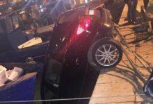 Trani – Auto finisce in acqua al porto: non c'era nessuno a bordo